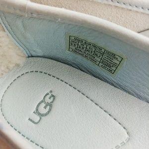 UGG Shoes - UGG Antora Flat Icey Blue Glitter Sparkle Size 9.5